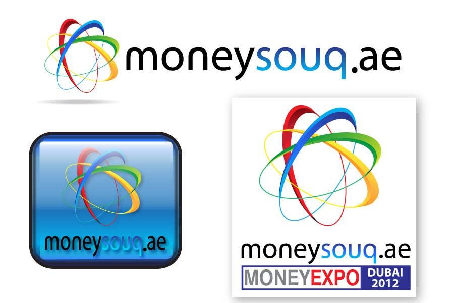 Penyertaan Peraduan #152 untuk Logo Design for Moneysouq.ae   this is UAE first shopping mall financial exhibition