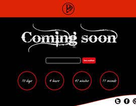 #16 untuk Design a Coming Soon page for selling in Themeforest oleh hAbd0u