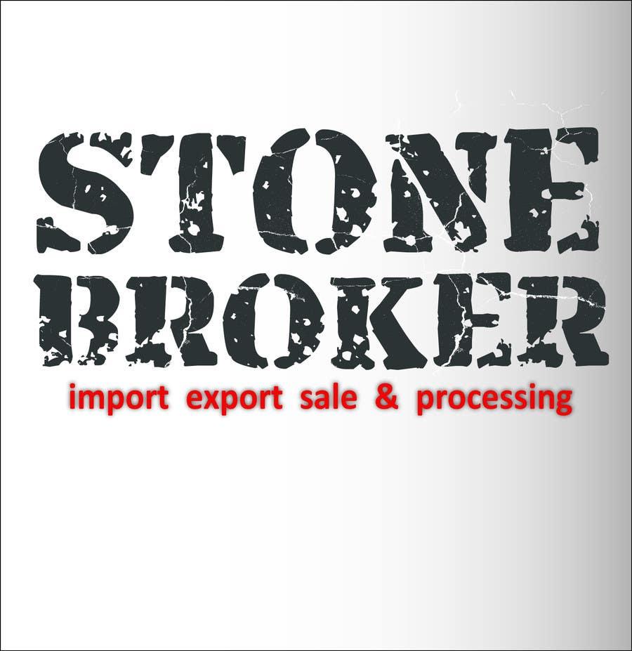 Konkurrenceindlæg #27 for Design a logo for Stone Broker (stonebroker.ch)