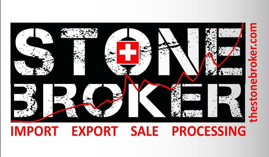 Contest Entry #28 for Design a logo for Stone Broker (stonebroker.ch)