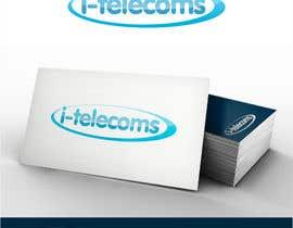 Nro 8 kilpailuun Design a Logo for i-telecoms.com.au käyttäjältä sbelogd