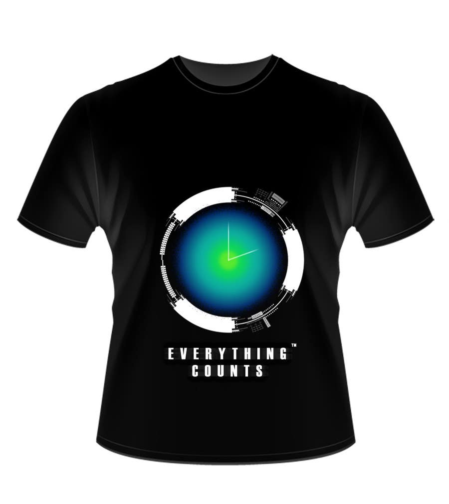 Konkurrenceindlæg #53 for Design a T-Shirt for Slogan: Everything Counts