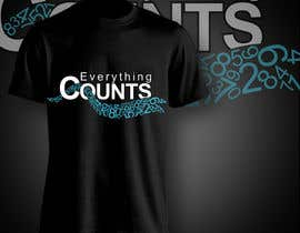 aghits tarafından Design a T-Shirt for Slogan: Everything Counts için no 87