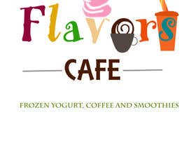 #105 for Design a Logo and marketing material for Frozen Yogurt / Juice / Coffee Store af fabriscribbles