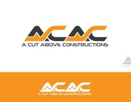#157 for Logo for A Cut Above Constructions (ACAC) - Round 2 af shemulehsan