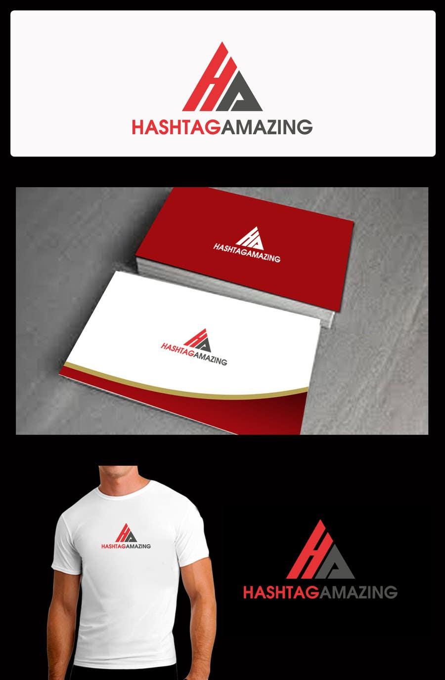 Penyertaan Peraduan #97 untuk Design a Logo for Hashtagamazing Ltd