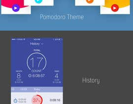#25 for Designing a Pomodoro App For iOS by darkevangel