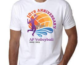 #24 for Design a T-Shirt for volleyball tournament af maximkotut
