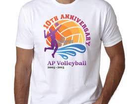 #24 untuk Design a T-Shirt for volleyball tournament oleh maximkotut