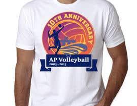 #25 untuk Design a T-Shirt for volleyball tournament oleh maximkotut