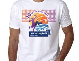 #27 untuk Design a T-Shirt for volleyball tournament oleh maximkotut