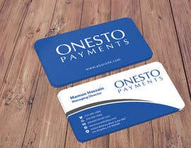 #16 untuk Design business card for Onesto Payments oleh mamun313