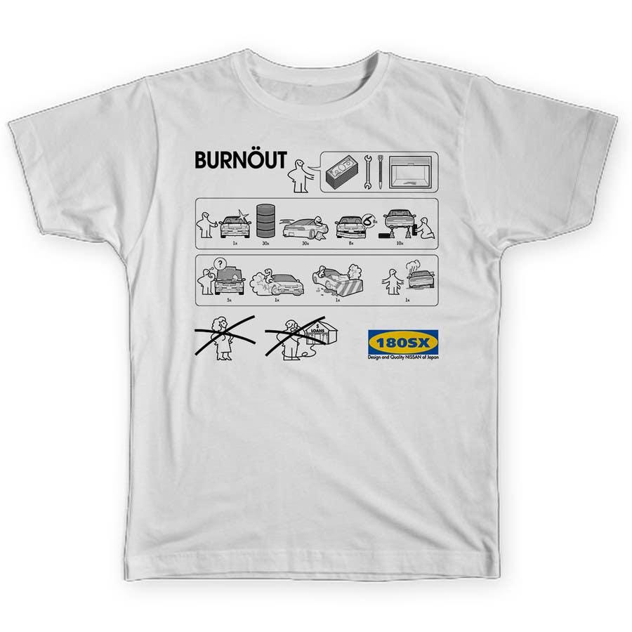 Konkurrenceindlæg #4 for Shirt design parody of Ikea instruction man