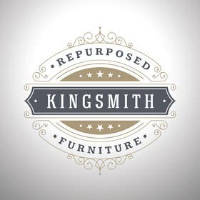 #36 for Design a Logo for Kingsmith Repurposed Furniture af onkarpurba