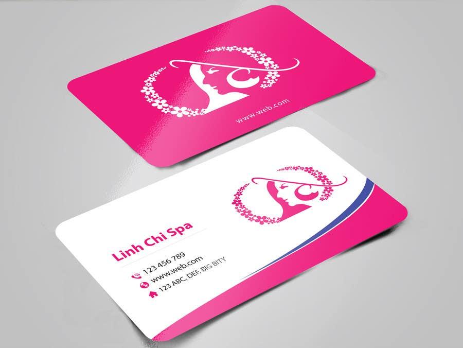 Kilpailutyö #37 kilpailussa Design some Business Cards for Spa