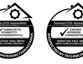 "#14 para Design simple stamp to ""Technical architect"" -inspector por cida2job"