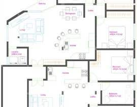 #36 para Two apartments design por heberomay