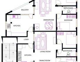#40 para Two apartments design por Astri87