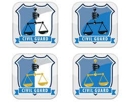 #36 for EASY - Civil Guard - APP ICON by hiisham78