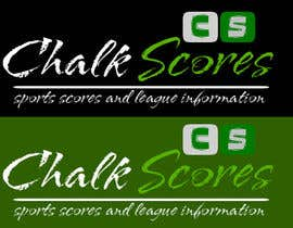 nº 77 pour Design a Logo for ChalkScores Sports Website par vizindia