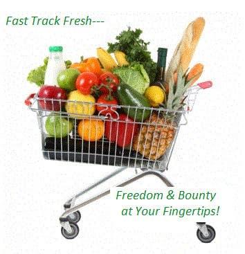 Penyertaan Peraduan #49 untuk Write a slogan for a grocery delivery service