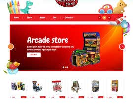 syrwebdevelopmen tarafından Build a Website for an Arcade store için no 9