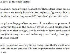 #2 for App Review by gpstberg