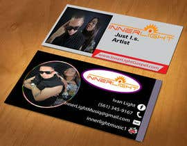 litonrgc tarafından Design some Business Cards for a Music Group için no 11
