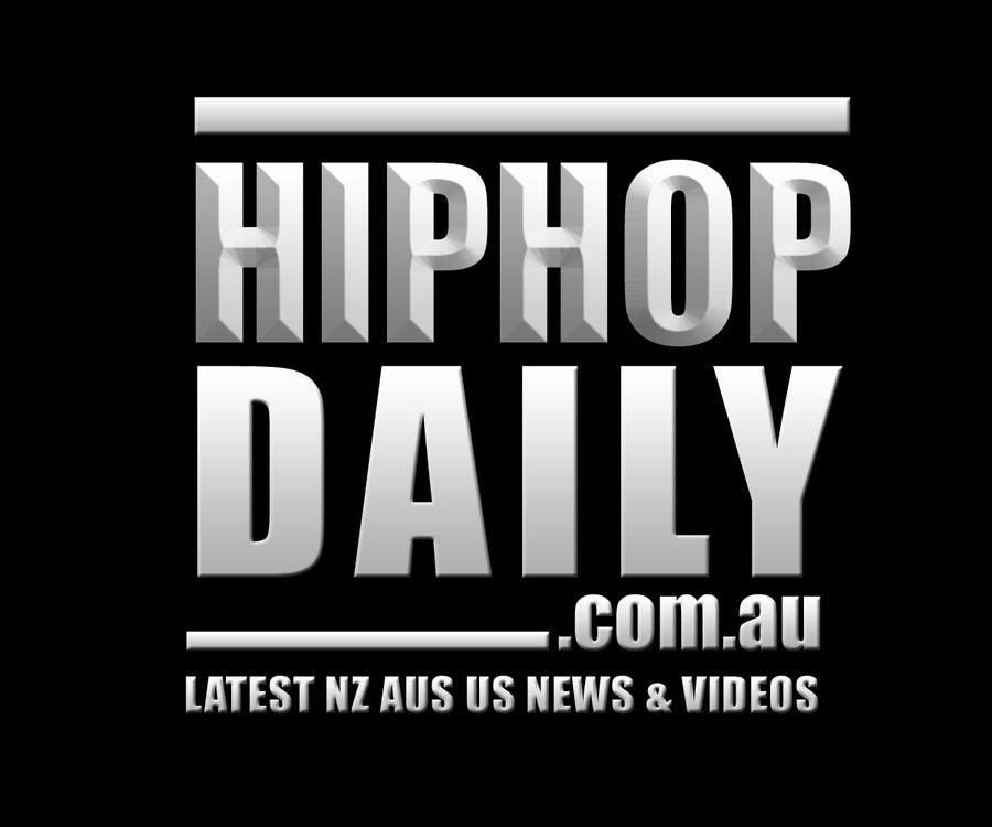 #45 for Design a Logo for Hip Hop Daily by arteastik