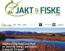 #77 untuk Design a Logo for jakt-fiske.no oleh CreativeDesign80