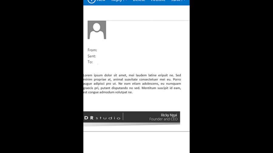 Penyertaan Peraduan #26 untuk Develop a Corporate Identity for DR Studio Ltd. --