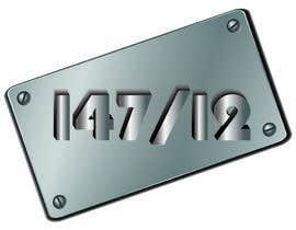 Nro 27 kilpailuun DESIGN LOGO FOR 147/12 käyttäjältä enamulislamkhan