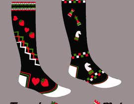 #42 untuk Sock Designs! Best 2 Designs (1 Male, 1 Female) Wins! oleh DrawDesign4u