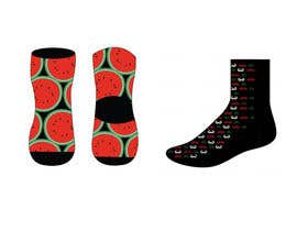 #21 untuk Sock Designs! Best 2 Designs (1 Male, 1 Female) Wins! oleh vica0309
