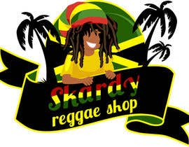 #62 for Disegnare un Logo for Internet Reggae Shop by Aleshander