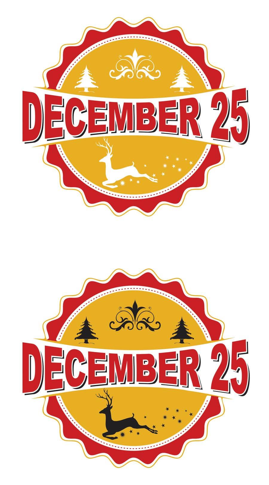 Penyertaan Peraduan #32 untuk Design a Logo for December 25