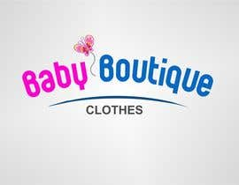 #94 for Design a Logo for baby boutique clothes website af binoysnk