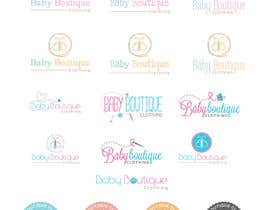 #91 untuk Design a Logo for baby boutique clothes website oleh AWAIS0