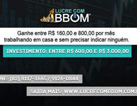 #3 for Design a Banner for LucreComBBOM.com.br by redeye998