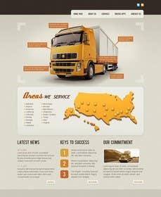 Nro 19 kilpailuun Transportation Website Design käyttäjältä Nihadricci