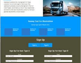#5 for Transportation Website Design af umair307