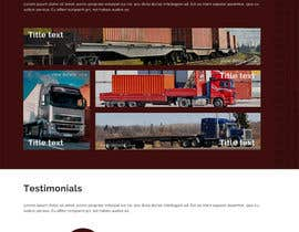 #9 for Transportation Website Design by deerendee