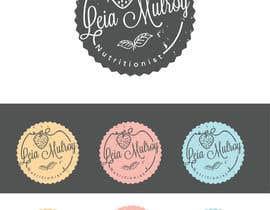 """AWAIS0 tarafından Design a Logo for """"Leia Mulroy Nutritionist"""" için no 65"""