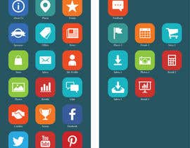#17 para Design a range of Icons on a skinned background for a sporting app por Rendra5