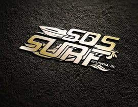 eddesignswork tarafından Wake/Surf Board Boating Company needs cool Logo Design için no 86