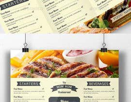 #37 untuk Design a food menu for a bar oleh Gancov