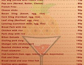 #20 cho Design a food menu for a bar bởi antianimator