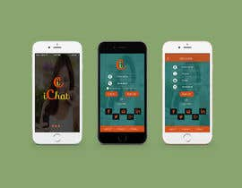 #26 for Design an App Mockup for chat app af BitsByteTech