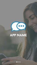 #29 untuk Design an App Mockup for chat app oleh ankisethiya