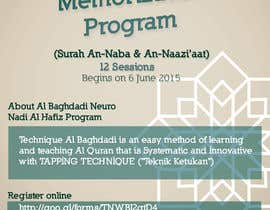 #7 cho Design a Flyer for Al Quran Memorisation Program bởi alromisa